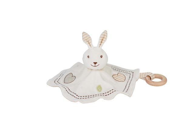 Plush Rabbit Blankie